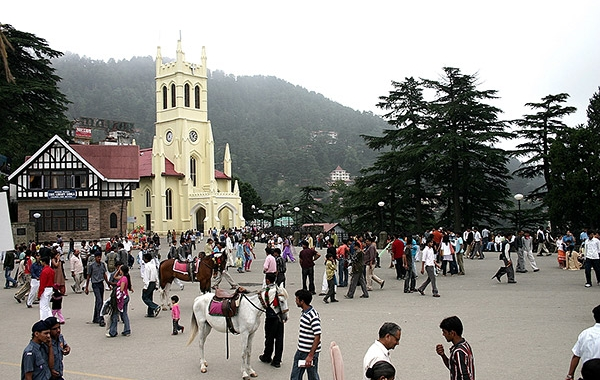 La Christ Church a Shimla
