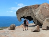 Davanti alle Remarkable Rocks di Kangaroo Island
