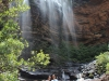 Le Wenworth Falls nelle Blue Mountains