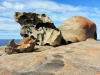 Le Remarkable Rocks di Kangaroo Island