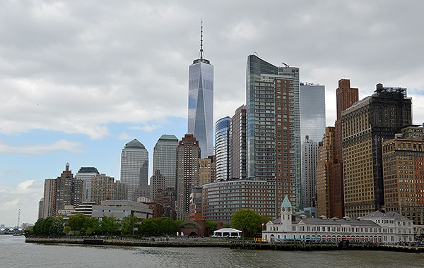 Lo skyline di Manhattan