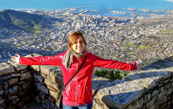 Il panorama su Cape Town dalla Table Mountain