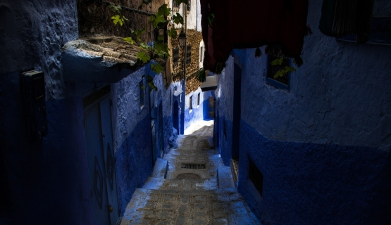 MAROCCO INDACO: CHEFCHAOUEN